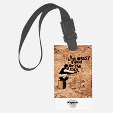 Heresy Poster Luggage Tag