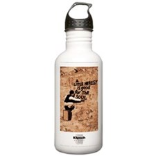 Heresy Poster Water Bottle