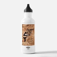 Heresy Poster Water Bottle