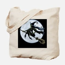 witch-broom2-BUT Tote Bag