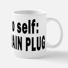 11X11 NOTE TO SELF 4 WHITE Mug