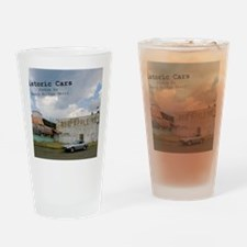 historic cars calendar z Drinking Glass