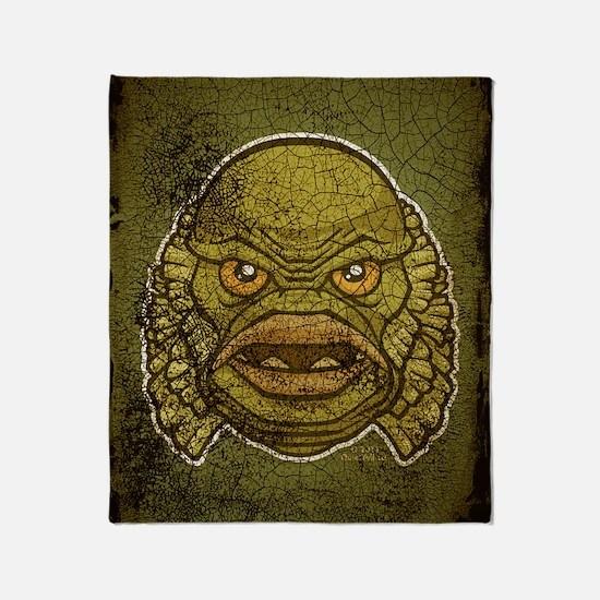 11x17_print_creature_img Throw Blanket