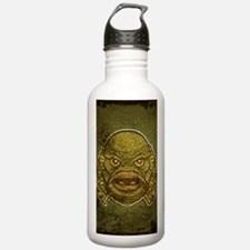 11x17_print_creature_i Sports Water Bottle