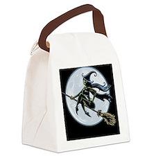 witch-broom2-TIL Canvas Lunch Bag