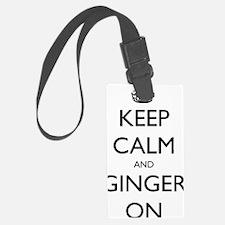 keep ginger crown Luggage Tag