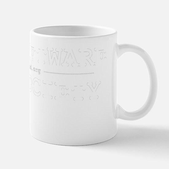 Free Software - Free Society (white) Mug