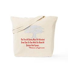 blk_Tree_of_Liberty_2003 Tote Bag