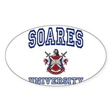SOARES University Oval Decal