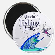 Abuelos Fishing Buddy Magnet