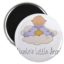 Boy Abuelos Angel Magnet