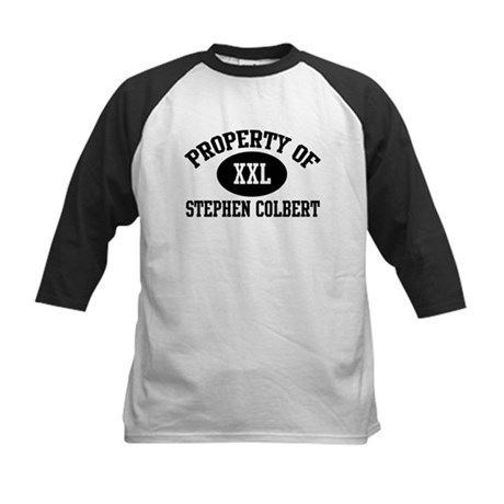 Property of Stephen Colbert Kids Baseball Jersey