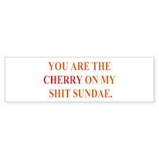 Cherry Bumper Bumper Sticker
