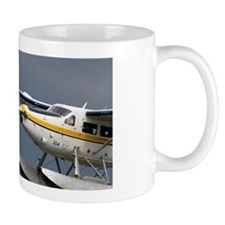 Seaplane flying at Port Vancouver in Br Mug