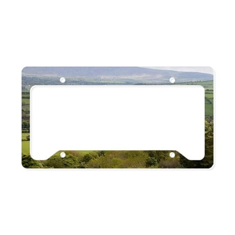 Broad landscape with a patchw License Plate Holder