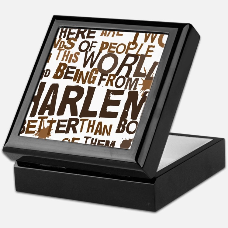 harlem_brown Keepsake Box