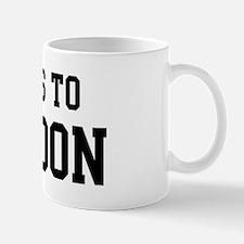 Belongs to Brandon Mug