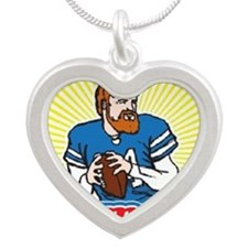 Fitzmagic Silver Heart Necklace