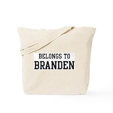 Belongs to Branden Tote Bag