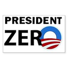 President Zero Decal