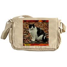 Tuxedo Cat Messenger Bag