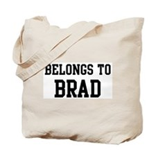 Belongs to Brad Tote Bag