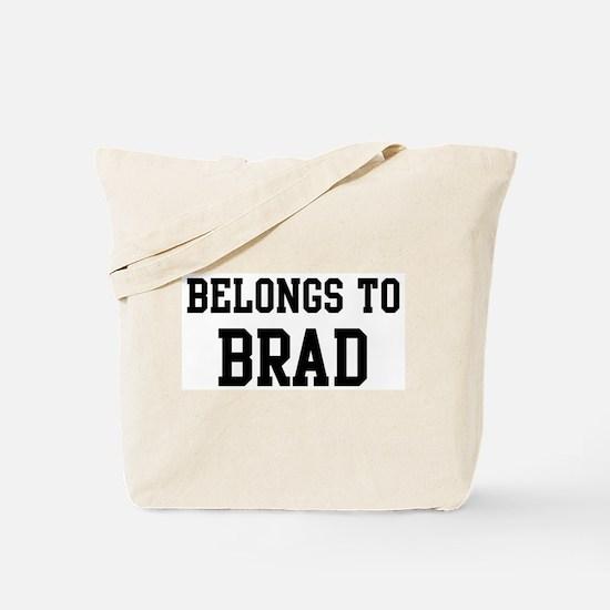 Belongs to Brad Tote Bag