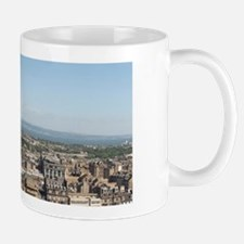 Edinburgh. View of Princes Gardens and  Small Small Mug
