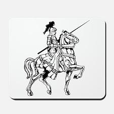 Mounted Knight Mousepad