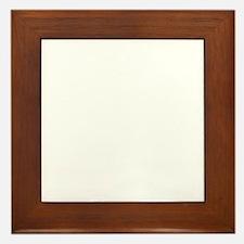 indiana_white Framed Tile