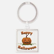 happy halloween Square Keychain