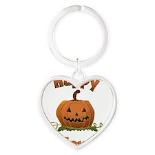 happy halloween Heart Keychain