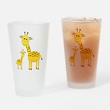 Giraffe3 Drinking Glass