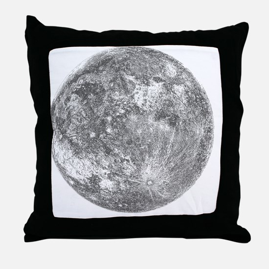 2000x2000moon Throw Pillow