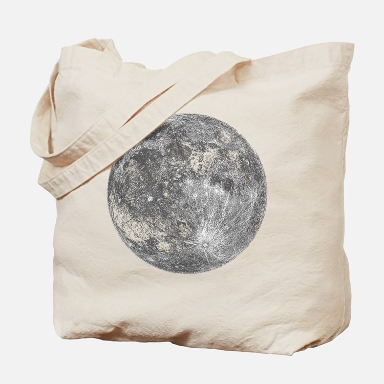 2000x2000moon Tote Bag
