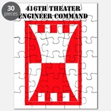 SSI-416TH THEATER ENGINEER COMMAND WITH TEX Puzzle