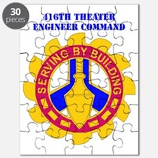 DUI-416TH THEATER ENGINEER COMMAND WITH TEX Puzzle