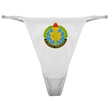 DUI-MILITARY INTELLIGENCE READINESS  Classic Thong