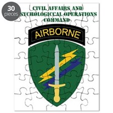 SSI-CIVIL AFFRS  PSYCH. OPS  COMMAND WITH T Puzzle