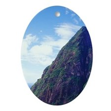 Ladera Resort, Sourfriere, St Lucia, Oval Ornament