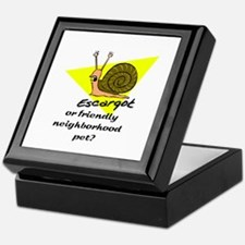 Cute Snails Keepsake Box