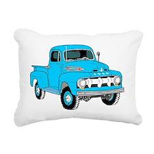 Old Truck Rectangular Canvas Pillow
