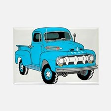 Old Truck Rectangle Magnet