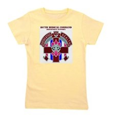DUI-807TH MEDICAL SUPPORT COMMAND WITH  Girl's Tee