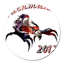 Bachmann Round Car Magnet