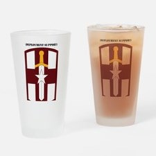 SSI-807TH MEDICAL SUPPORT COMMAND W Drinking Glass