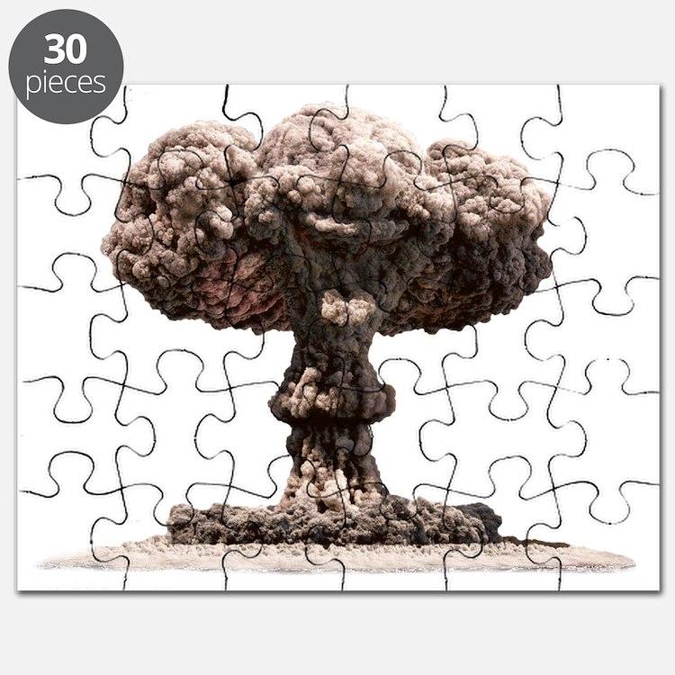 Atomic explosion Puzzle