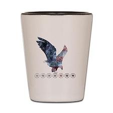 Huntsman_eagle_republican shirt_Black Shot Glass