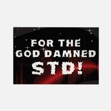 STD Inside Rectangle Magnet