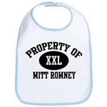 Property of Mitt Romney Bib